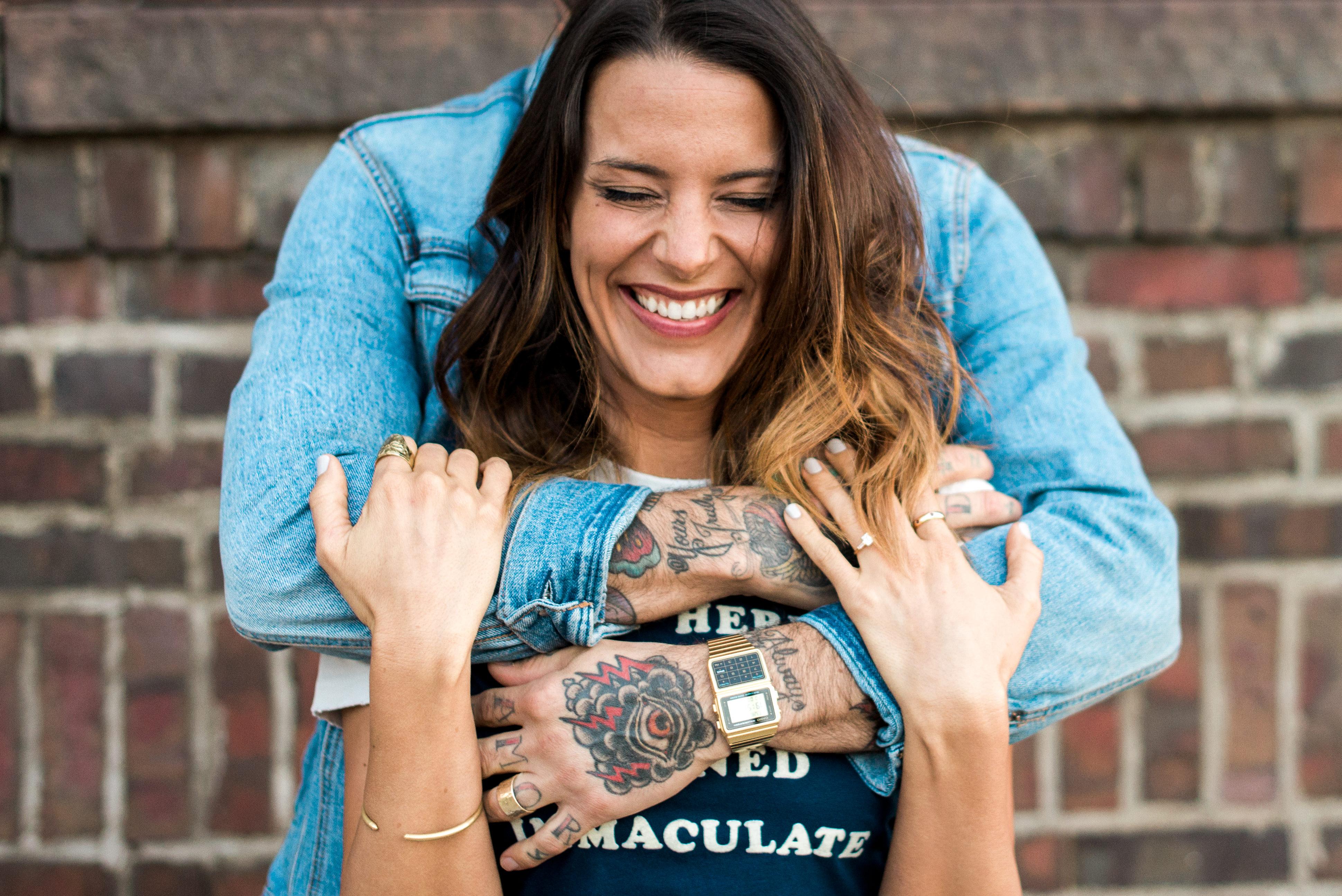 RiNo Denver engagement photos