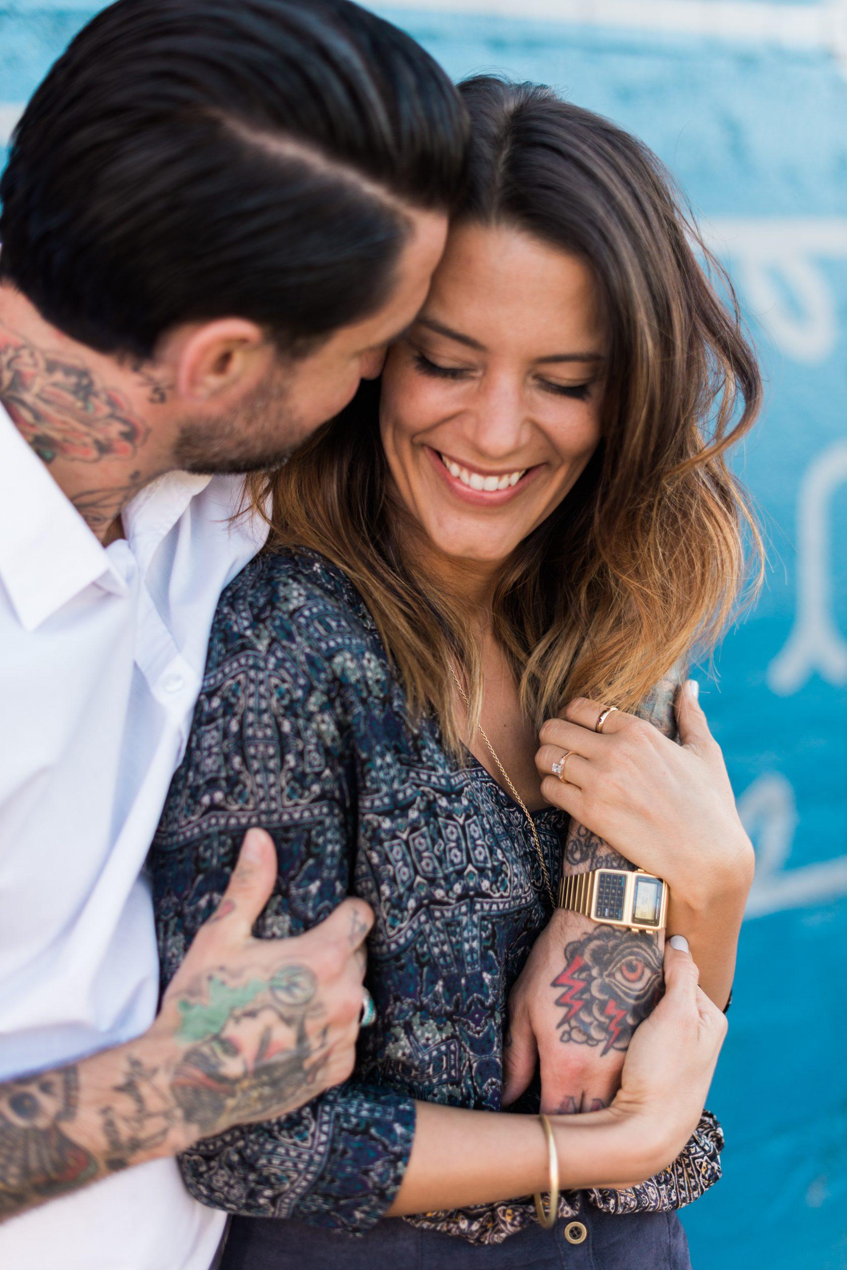 Craig + Lauren // RiNo Denver Engagement Photos