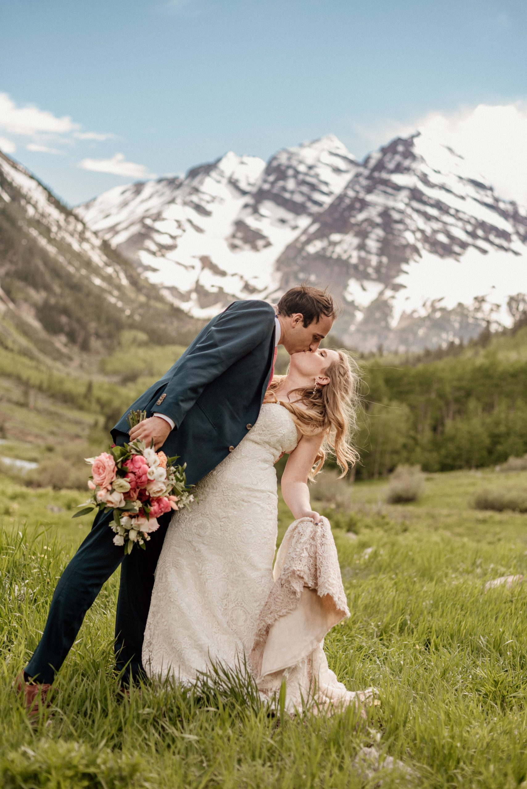 maroon bells wedding photos
