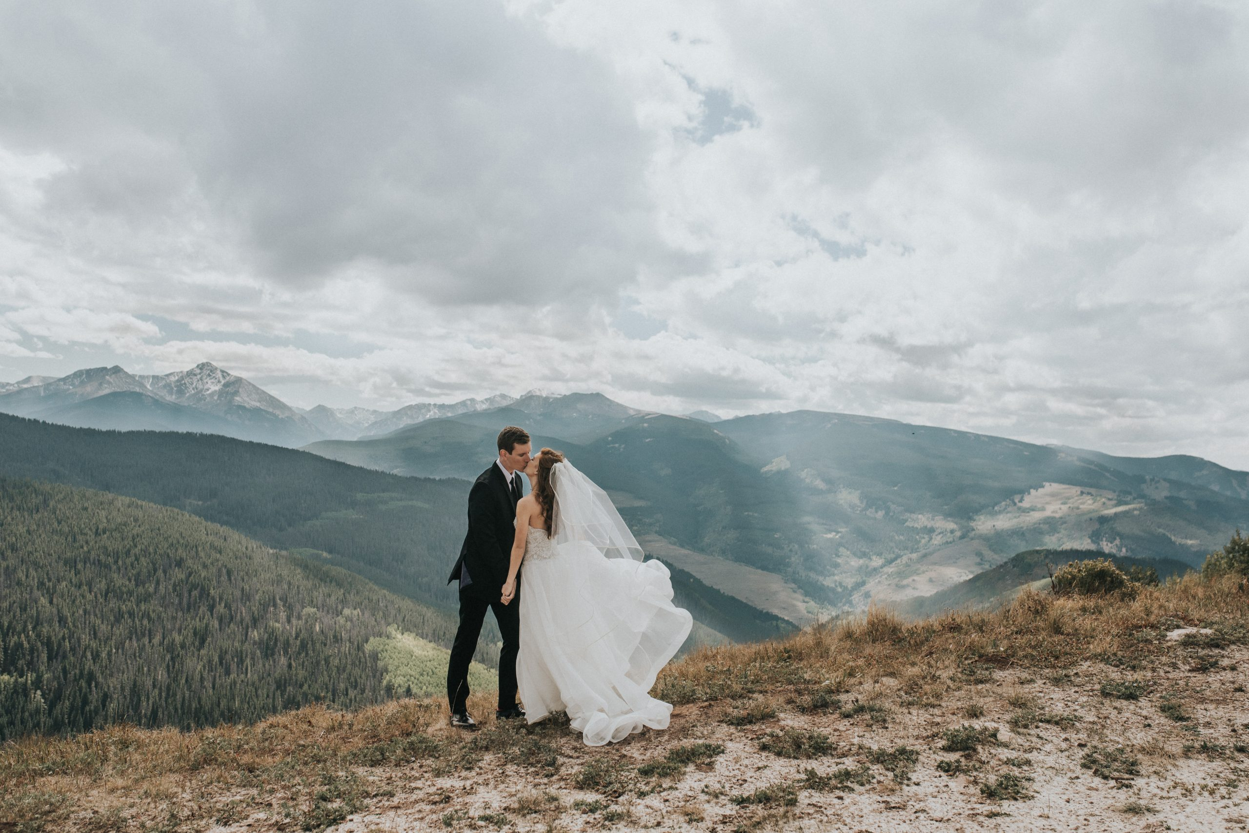 vail colorado wedding photos